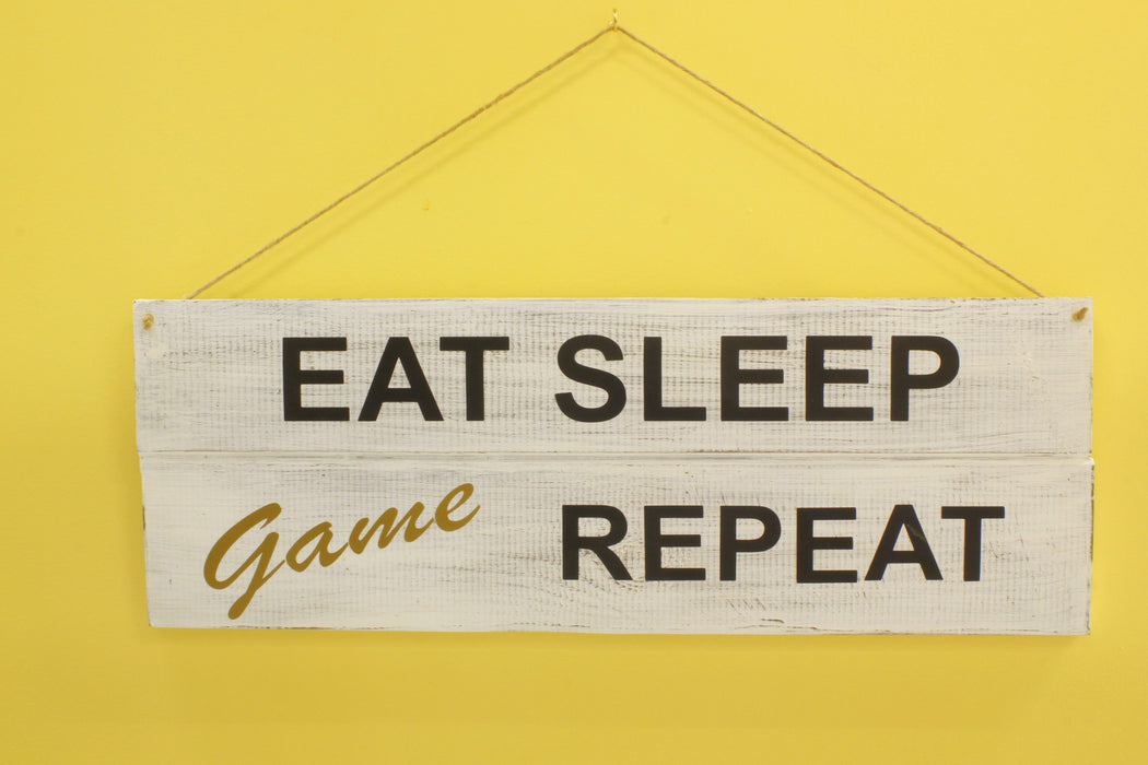 Eat Sleep Game Repeat - inndi
