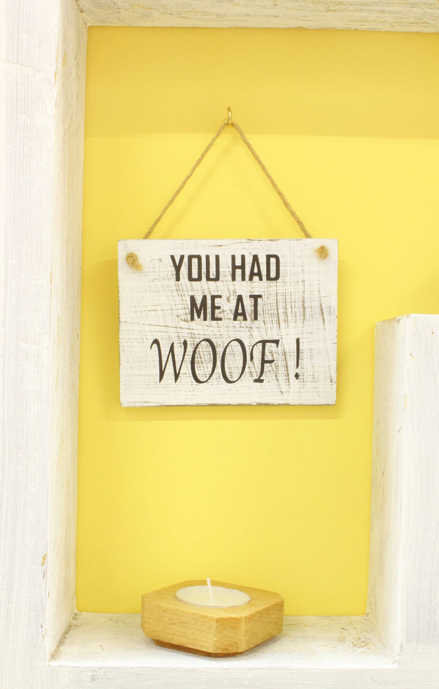 You Had Me At Woof - inndi