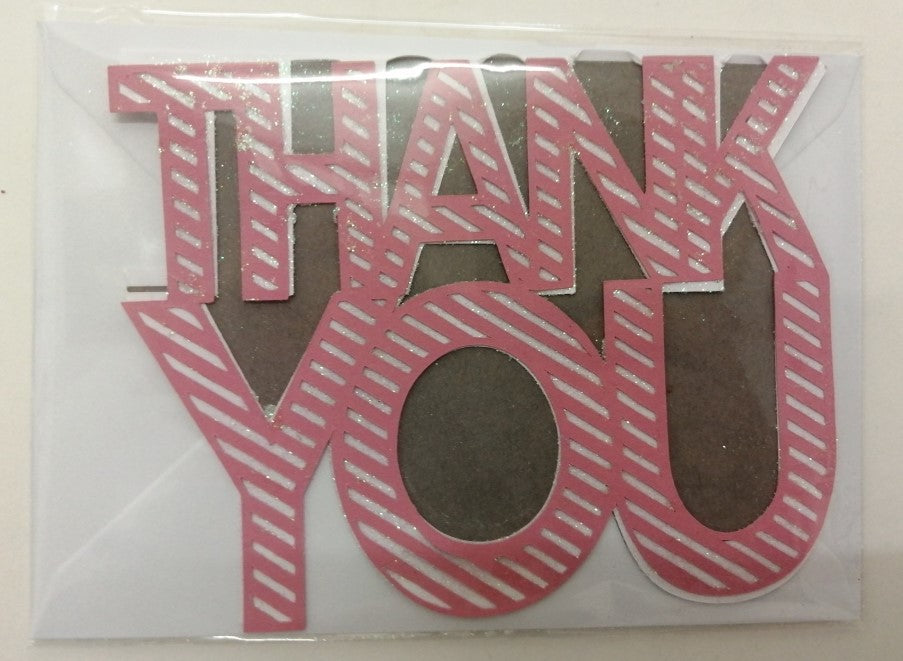 Handcrafted Thank You Cards