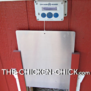 ChickenGuard Premium Automatic Chicken Door Opener, Installed