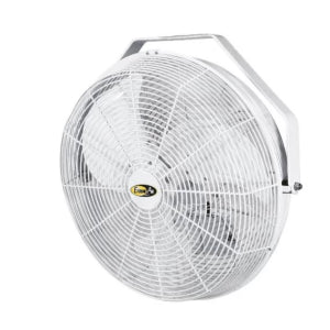 "Fan: 14"" indoor/outdoor w/ enclosed motor, installed"
