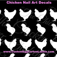 Nail Art Decals, Chickens & Chicks