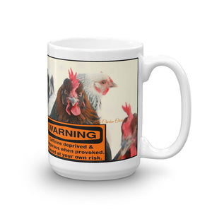 Warning Caffeine Deprived - Mug