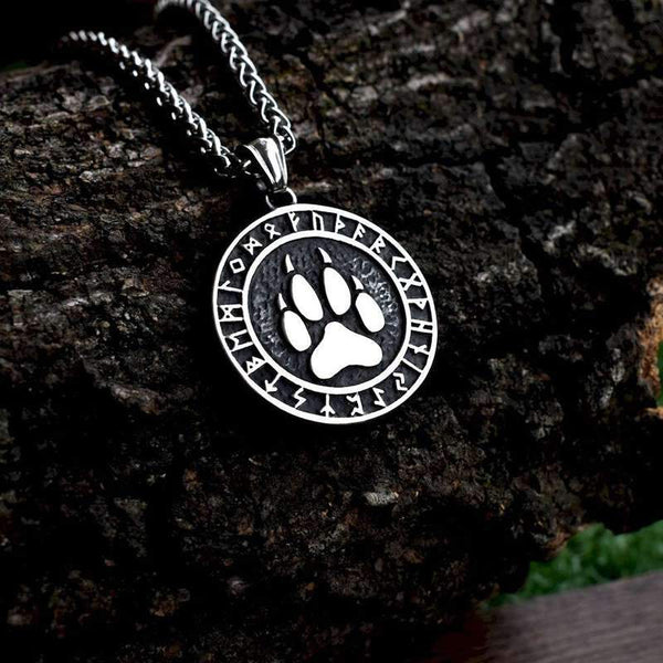 collier patte loup
