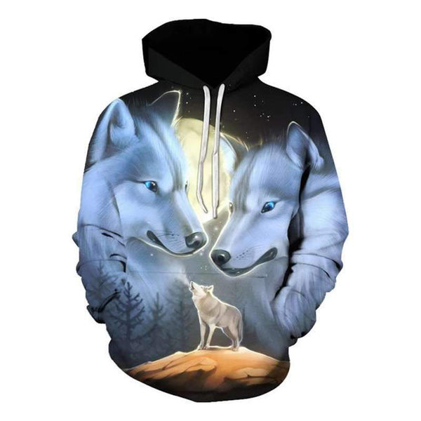 sweat shirt loup