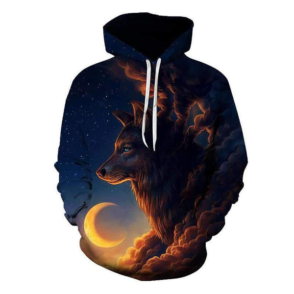 sweat tete de loup