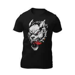 t-shirt loup-garou demoniaque
