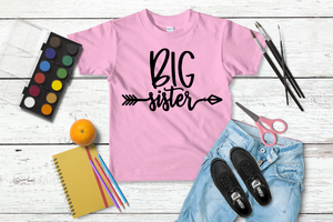 Big Sister T-Shirt Set