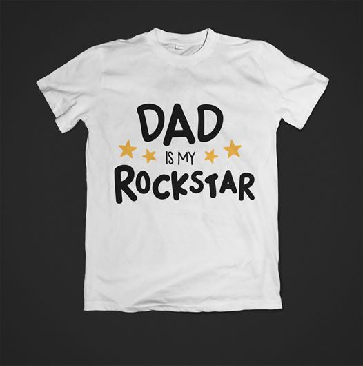 Dad is my Rockstar T-Shirt