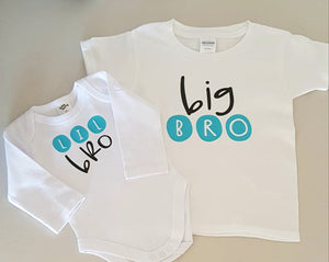 Big Bro - Lil Bro Tshirt set