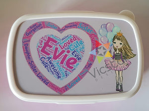 Kids Personalised Lunch Box
