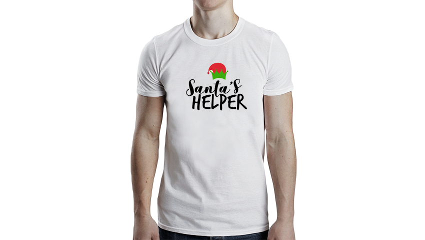 Santa's helper Christmas T-Shirt (adults)