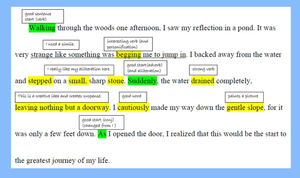 Connecting Grammar and Writing through Focus and Annotation
