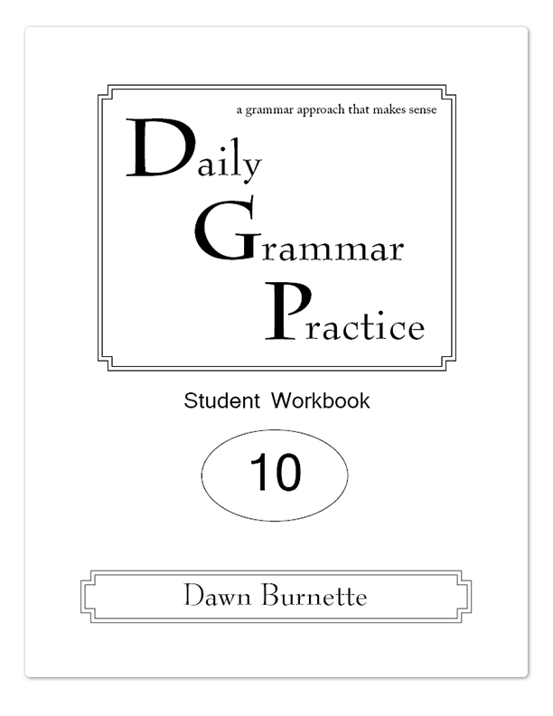 Daily Grammar Practice Grade 10 Advanced - DGP Bookstore