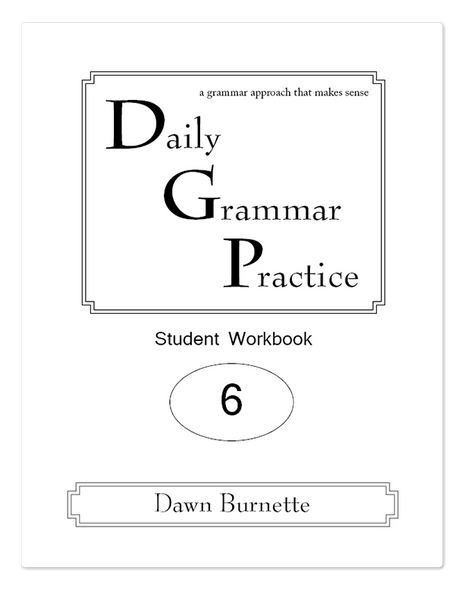 Daily Grammar Practice Grade 6 Advanced