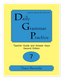 Daily Grammar Practice Grade 7 Advanced