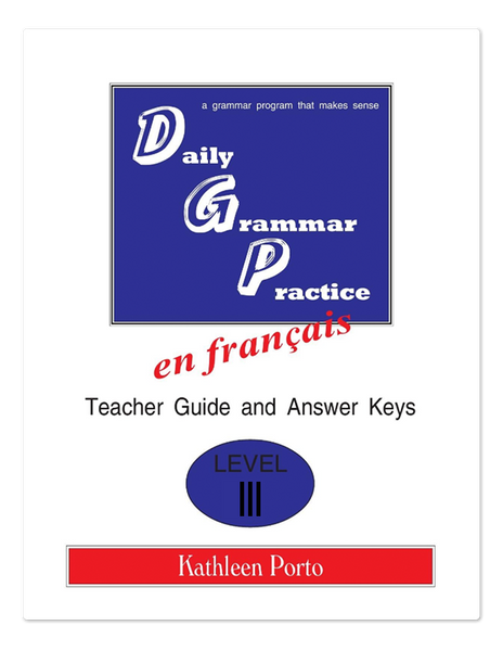 Daily Grammar Practice French  3