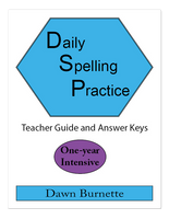 Daily Spelling Practice One-Year Intensive