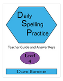 Daily Spelling Practice Level 4