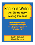 Focused Writing: An Elementary Writing Process