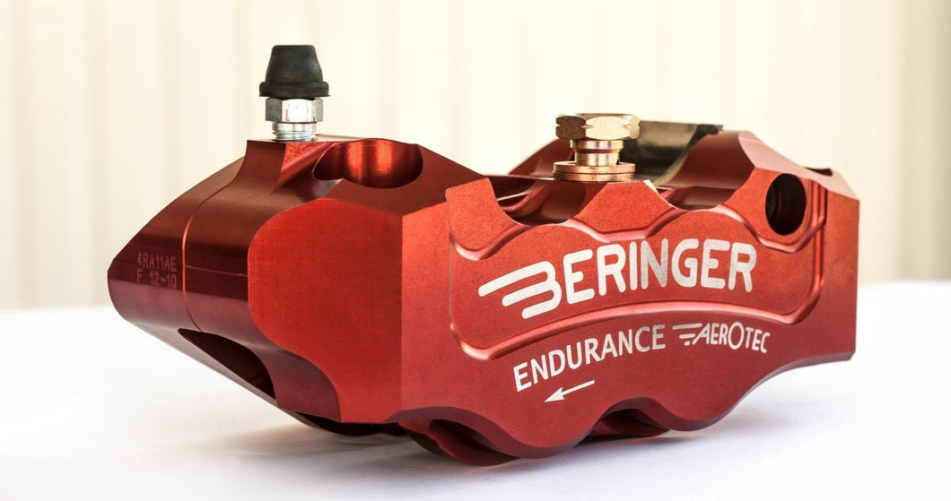 Beringer 4R11AE endurance race 4 piston radial caliper 108mm spacing, LH