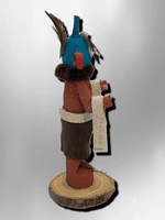 Navajo Handmade Painted Aspen Wood 3'' Inch Chasing Star Kachina Doll - Kachina City