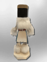 Navajo Handmade Painted Aspen Wood Six Inch Hoop Dancer with Mask Kachina Doll - Kachina City