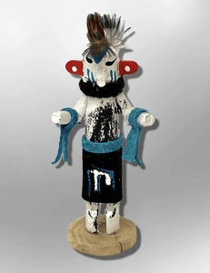Navajo Handmade Painted Aspen Wood 3'' Inch Hummingbird Kachina Doll - Kachina City