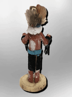 Navajo Handmade Painted Aspen Wood 3'' Inch Old Man Kachina Doll - Kachina City