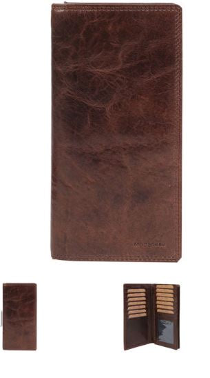 Vintage Leather Mens Coat Wallet- 4036