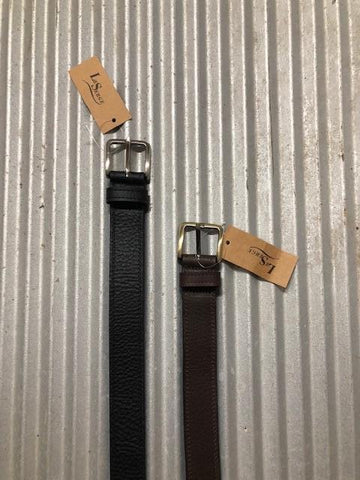 503309 LEATHER BELT 2/ STITCH