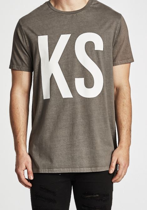 KSCY Step Hem Tall Tee- KC190904