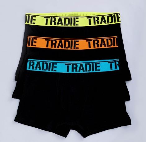 TRADIE 3PK MENS TRUNK- MJ1194WK3