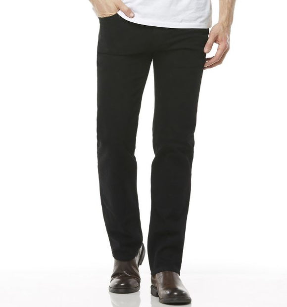 R058032602 STRAIGHT BLACK STRETCH JEANS