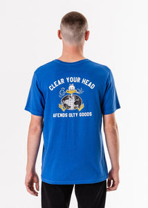 CLEAR YOUR HEAD TEE- M183006