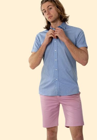 Sturrock 2 Tone Diamond S/S Shirt