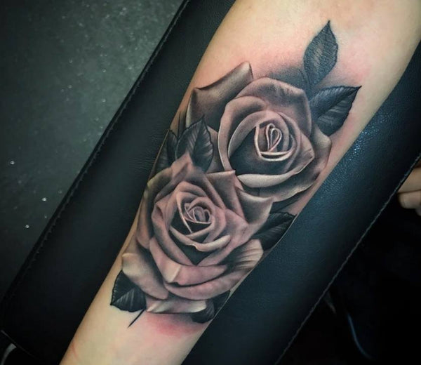 25 Realistic Rose Tattoos For Everyone Tattoo Icon