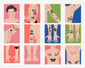 Harry Styles Temporary Tattoos Set