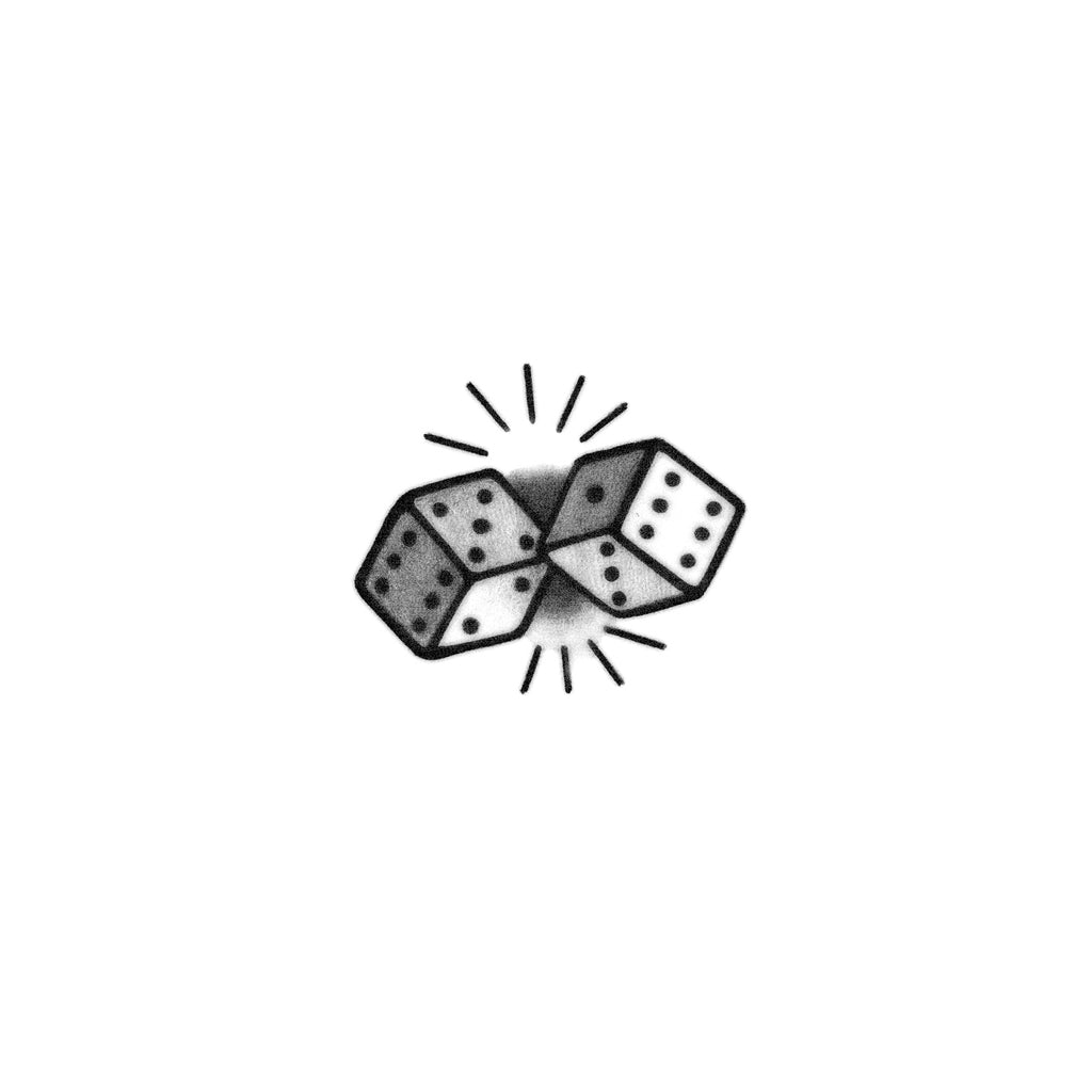 blackwork dice