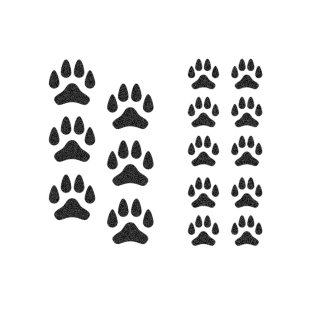 Dog & Puppy Paws (Set of 16)