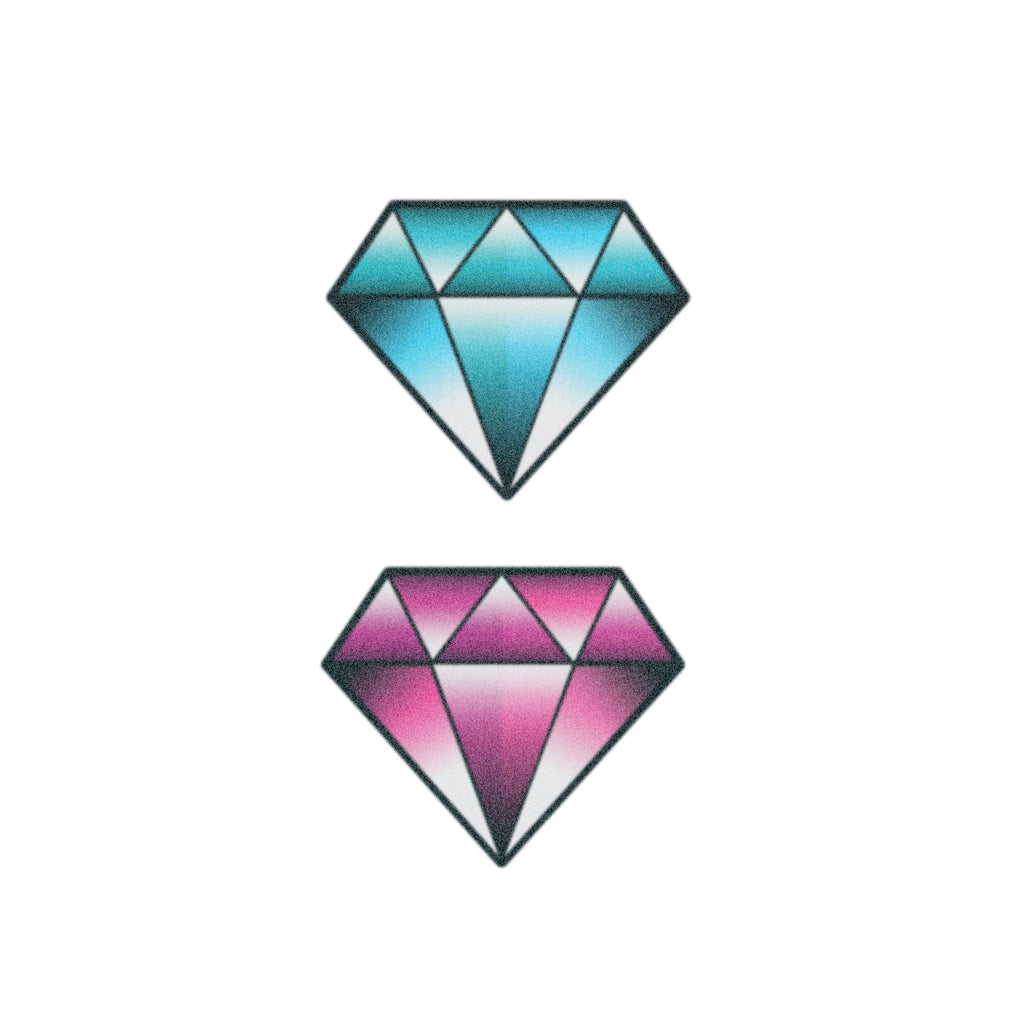 diamonds tattoo design