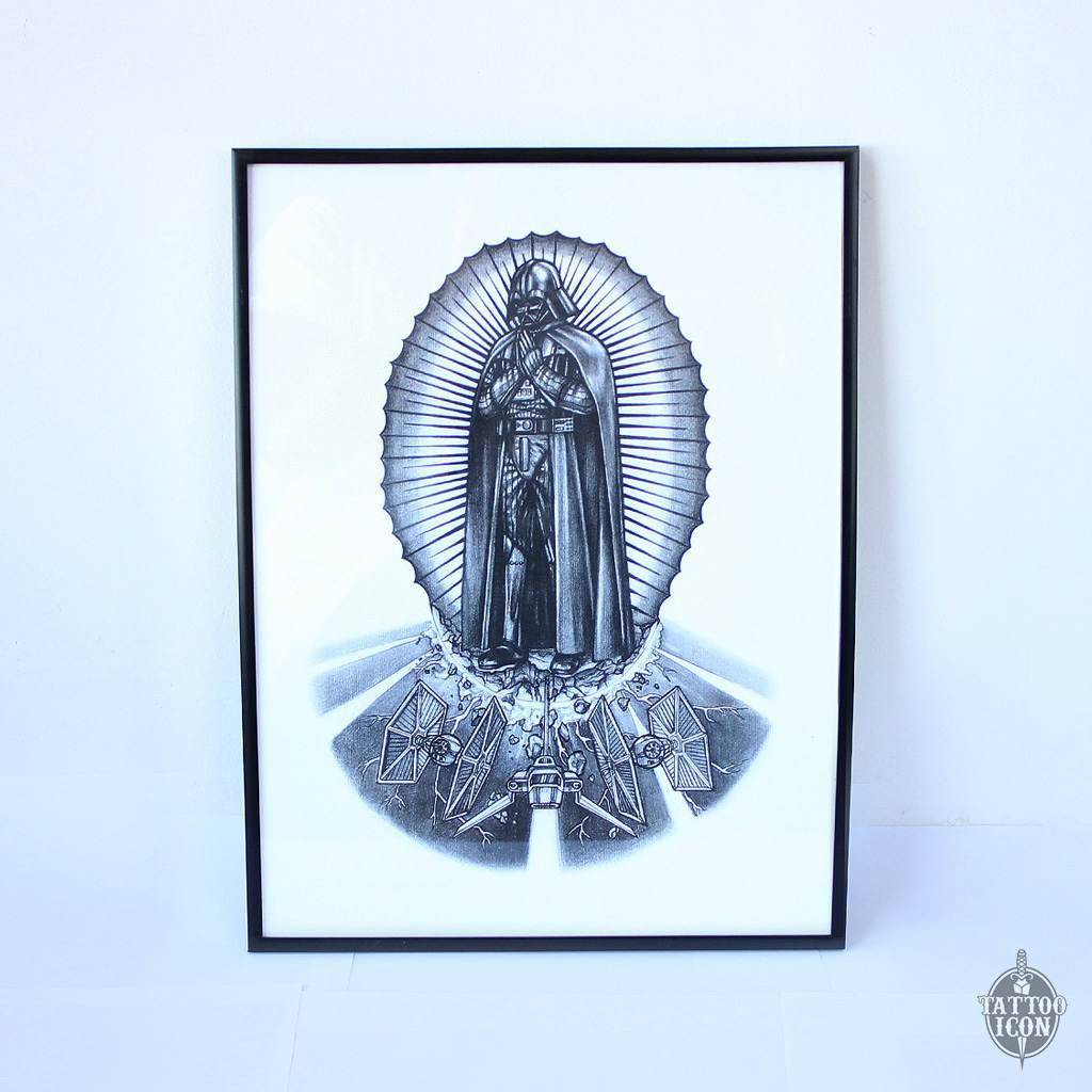 vader of guadalupe print