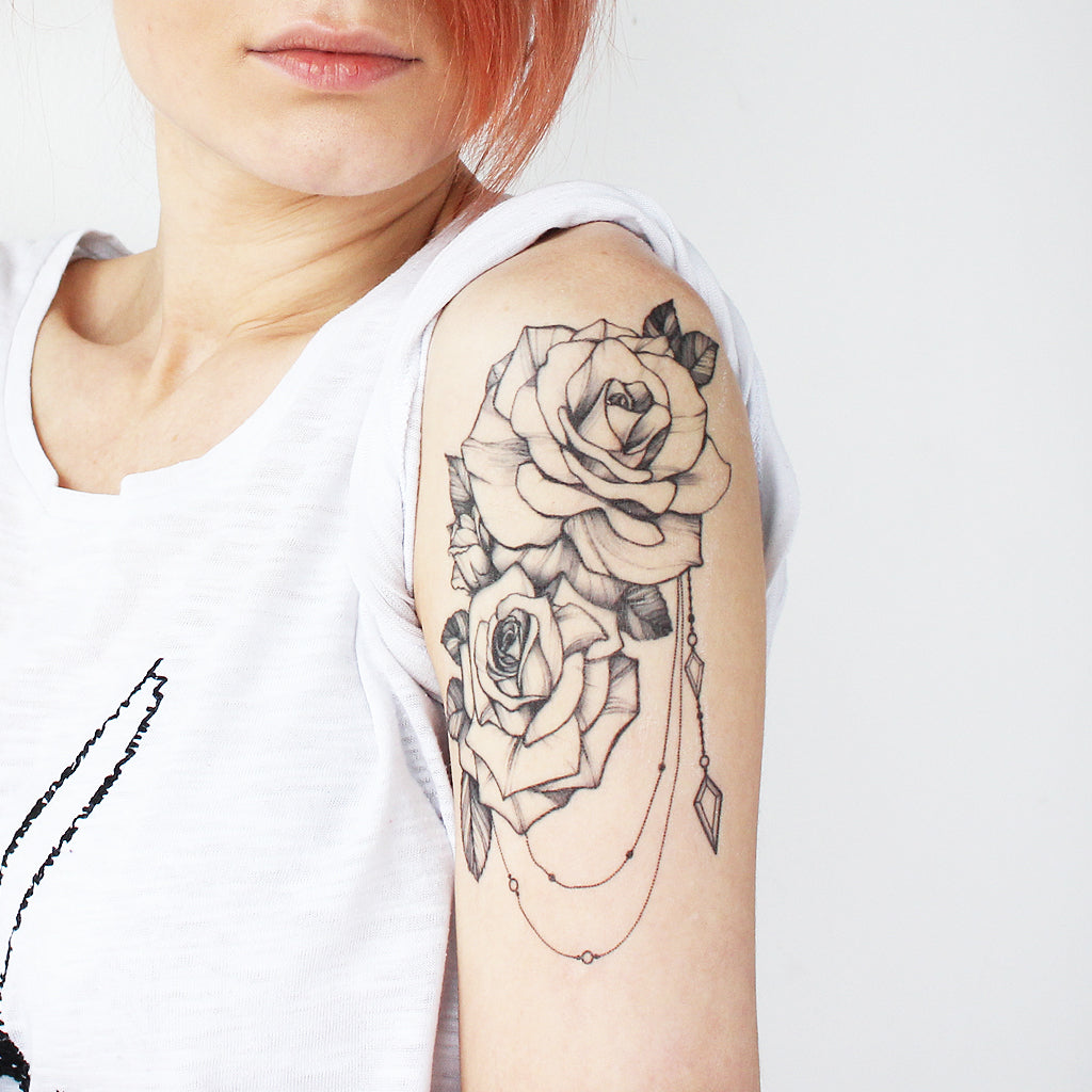 Rose Jewelry Tattoo