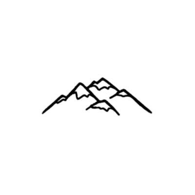 minimalist mountain