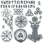 viking temporary tattoos