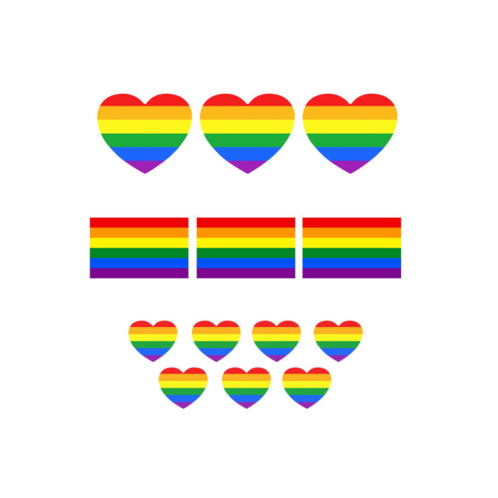 pride temporary tattoo pack