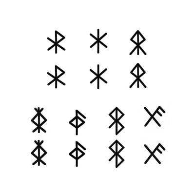 viking warrior runes