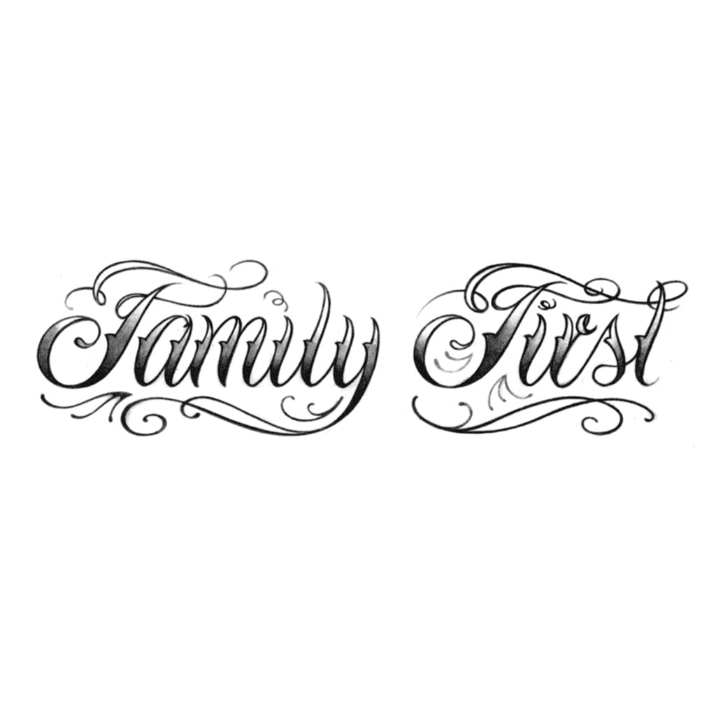 Family First – Tattoo Icon