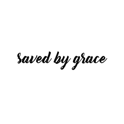 saved by grace tattoo