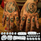 tekashi69 finger arm tattoos